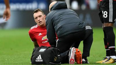 Mourinho Assures Injury-Scare Phil Jones Will Be Ready For Tottenham Clash
