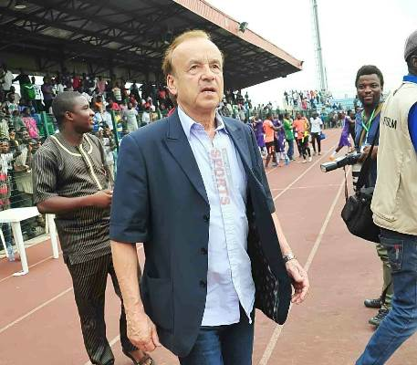 Rohr Insists On Strong Super Eagles Squad Vs  Algeria