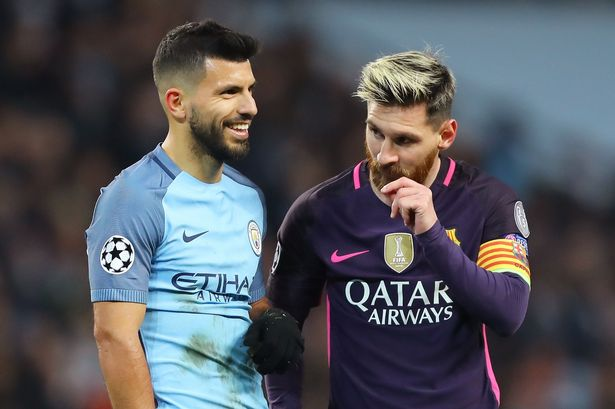 I would 'love' Lionel Messi to join Manchester City - Sergio Aguero