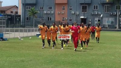 Zambia End Ghana Training Camp, To Arrive Abuja On Wednesday