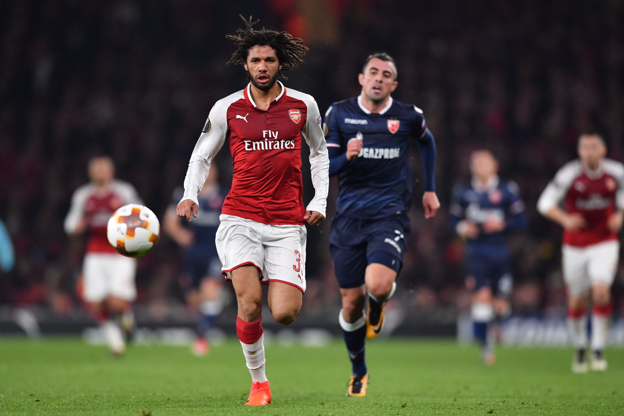 Europa League: Iwobi Rested As Arsenal Advance; Nwakaeme, Gero In Action, Ogu Benched