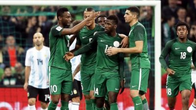 Aguero faints in dressing room as Nigeria stun Argentina