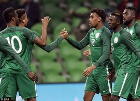 Image result for Super Eagles can make history in Russia - Mikel