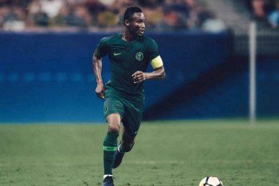John Obi Mikel 400x267 Nike Unveil New Super Eagles World Cup Kits
