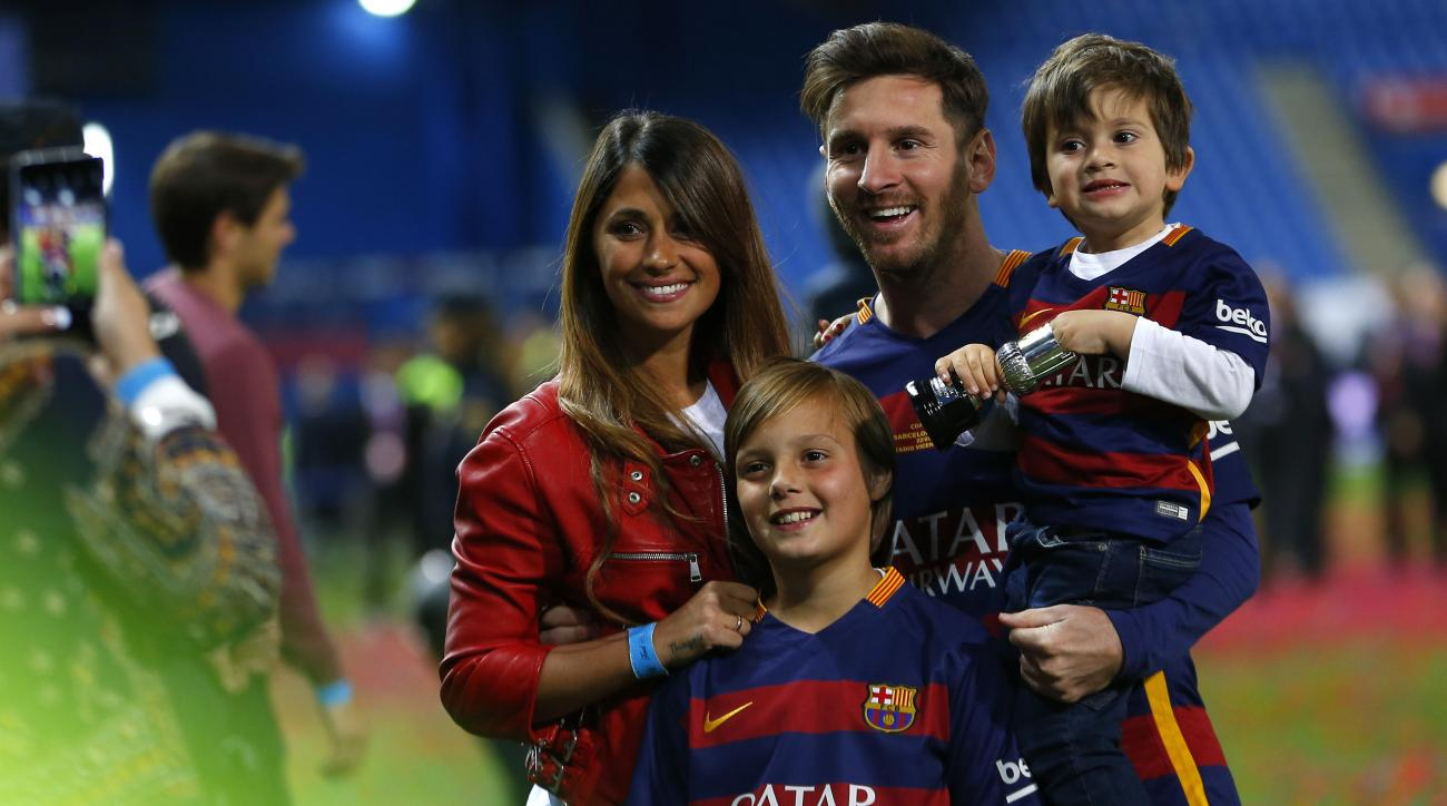 Lionel Messi Reveals Name Of Third Son