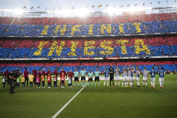 Barcelona Send Iniesta Off With Win Over Sociedad