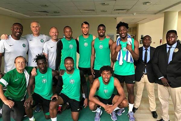 Lokosa, Echiejile, Ezenwa Join Super Eagles Camp For Congo Friendly