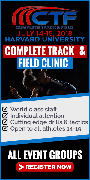 2018 Complete Track and Field Clinic at Harvard University