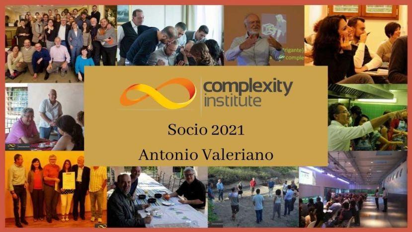 Socio 2021 Antonio Valeriano