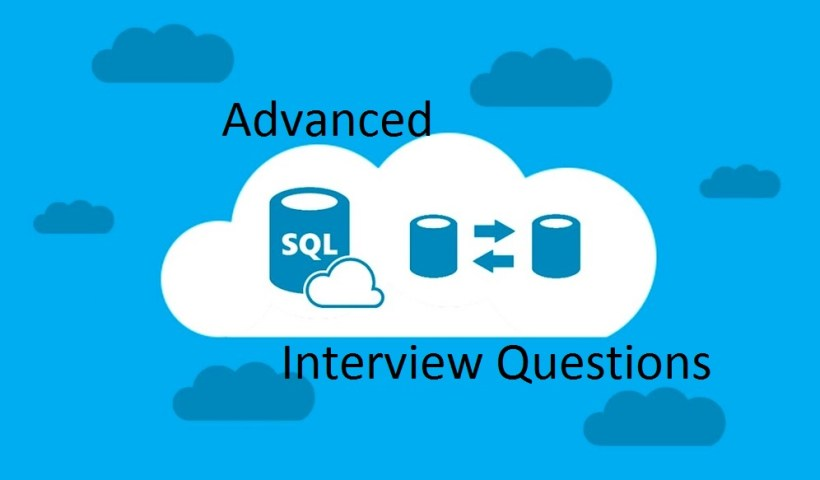 Advanced SQL Interview Questions