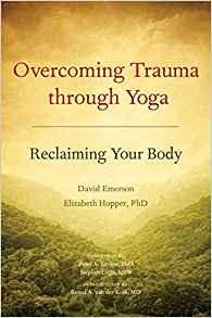 overcoming trauma thru yoga-book