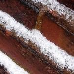 Woodberry - Snowy Brick Wall