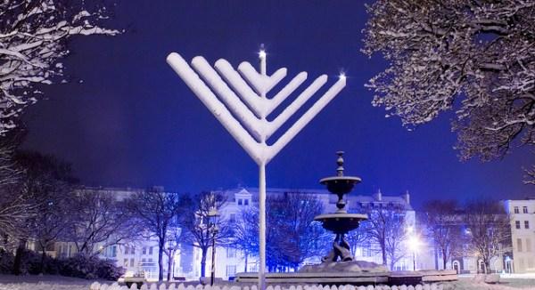 happy chanukah Hanukkah menorah