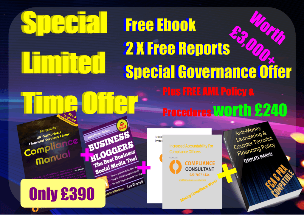 Special offer compliance manual with 3000 package aml policy gdpr compliance statement manual template aml offer maxwellsz