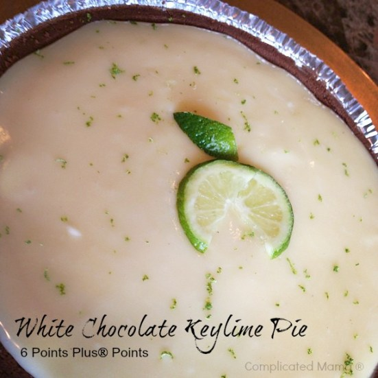 White Chocolate Keylime Pie Weight Watchers Points Plus