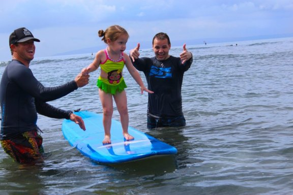 Rivers To The Sea surfing Lessons for beginners on Maui