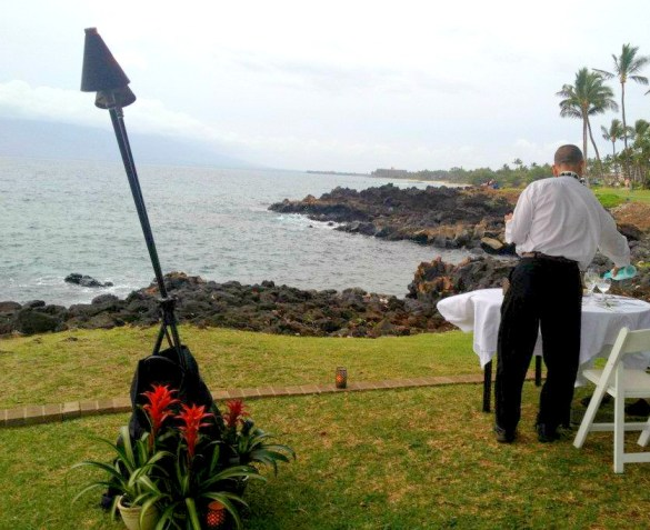 Mariott Maui Engagement Ideas Romantic Beach Dinner