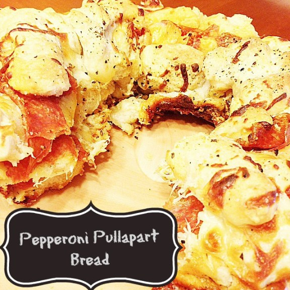 Pepperoni Pull apart bread recipe from Facebook