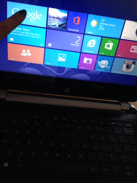 HP TOUCH SMART LAPTOP