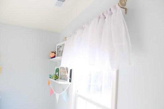 Gender Neutral Baby Nursery– Window Treatments