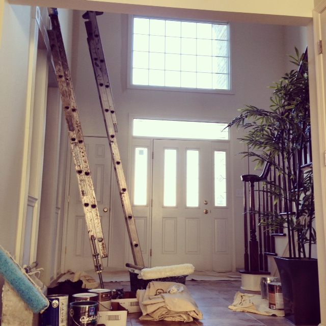 painting foyer beige sherwin williams