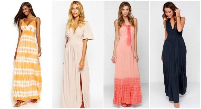 Maxi-dresses for Petite Women