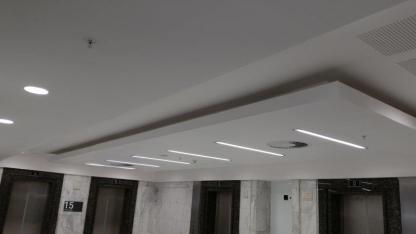 Component projects ceilings. partitions. bulkheads.