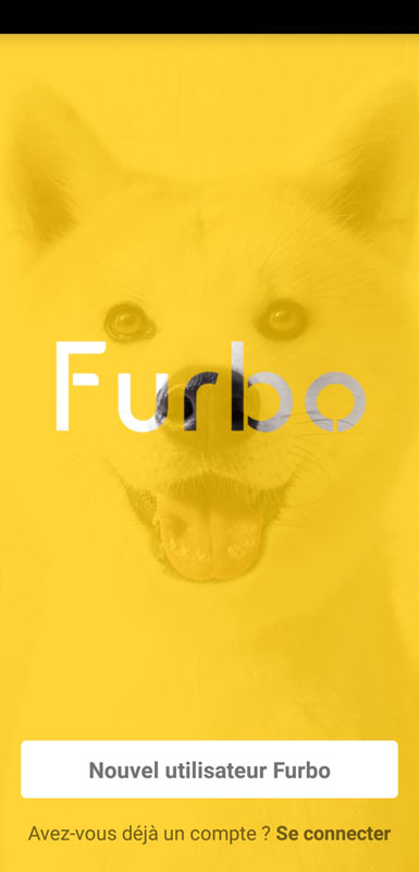 connexion application furbo dog