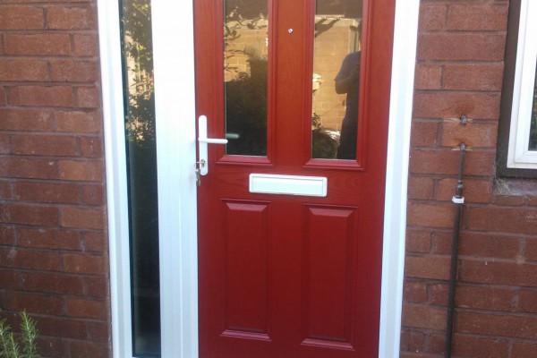 Red-2-Panel-2-Square-Global-Composite-Door-4