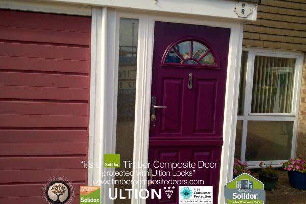 Aubergine Conway 1 Stable Door