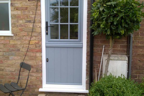 French Grey Flint Beeston GB Stable Door