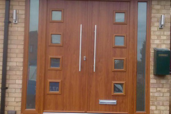 Golden Oak Milano French Doors