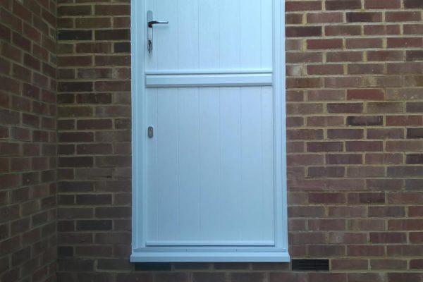 White Flint Solid Stable Door