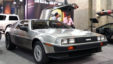 Photo of Electric Delorean makes auto show appearance