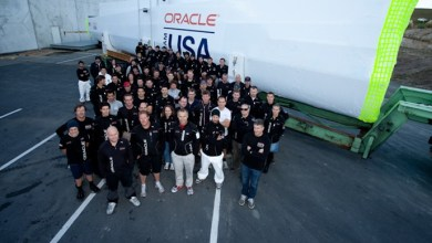 Photo of Core Builders Composites Ship first Wing for Oracle Team USA