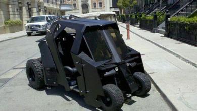 Photo of The Batmobile Golf Buggy