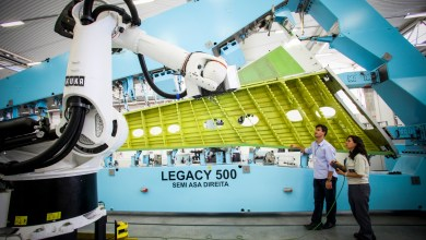 Photo of Embraer's Portugal Composites Facility Sends first Legacy 500 Parts