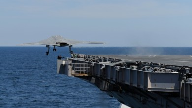 Photo of X-47B Completes First Ever Carrier Launch