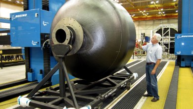 Photo of NASA Reach Composite Cryogenic Fuel Tank Milestone