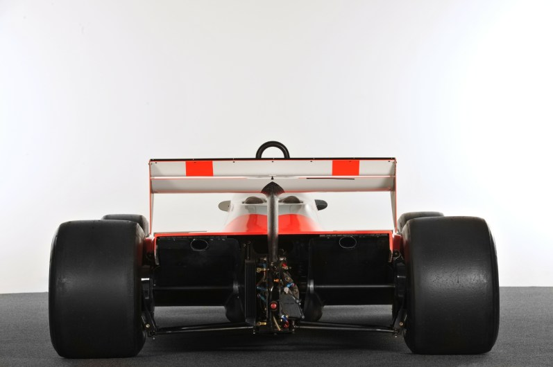 Rear view of the MP4/1