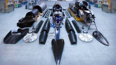 Photo of The Bloodhound Supersonic Kit Car