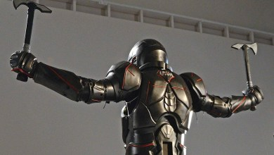 Photo of The Carbon Fibre Gladiator Suit That Takes a Real Beating