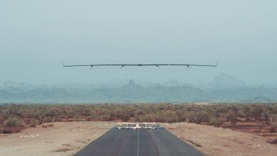 Photo of Facebook's Internet Broadcasting Drone Takes Flight