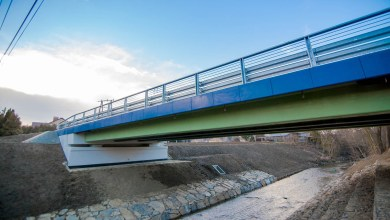 Photo of First Polish Road Bridge Made Using FRP Composites