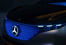 Photo of The Mercedes-Benz Vision EQS