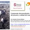 Curso de formación para técnicos municipales de la Diputación de Granada: Compostaje descentralizado. Fundamentos del proceso y calidad del compost.
