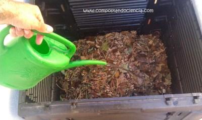Mi compostaje doméstico en septiembre