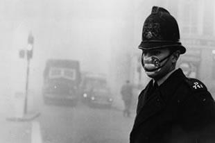 Contaminación atmosférica de Lonres en 1952