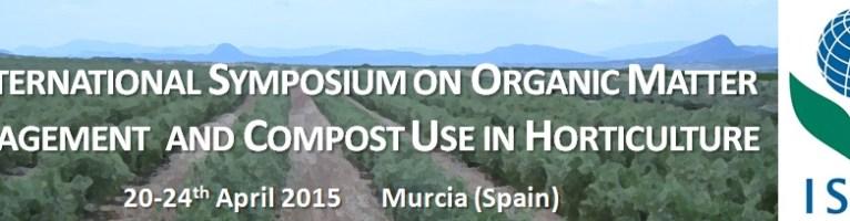 Ampliado el plazo para participar en Simposio Internacional sobre Materia Orgánica y Uso de Compost en Horticultura