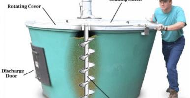 Sistema de compostaje doméstico Earth Tub